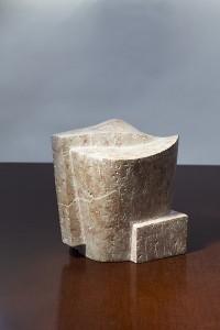 Head - mramor, 25x20x22 cm