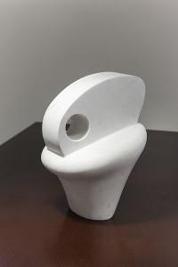 Head - mramor, 30x20x25 cm