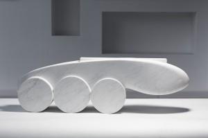 Animal Car - mramor, 40x90x30 cm