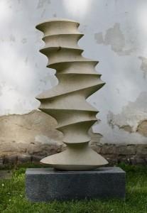 Laminating II - pískovec, žula 120x45x30 cm