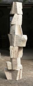 Week - dřevo, 230x40x30 cm