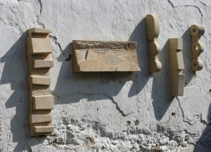 Reliefs - pískovec, různé rozměry